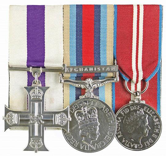 Victoria Cross Award Case.